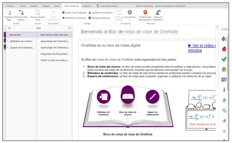 OneNote Online: Bloc de notas digital – Global Campus Nebrija